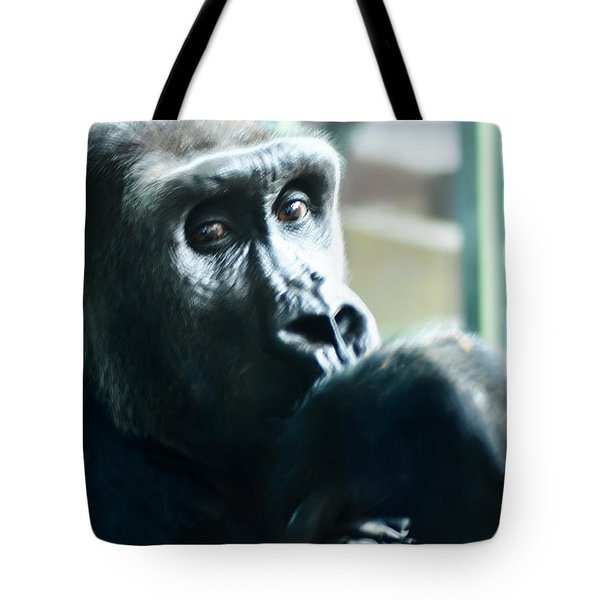 Kivu The Gorilla Tote Bag by Bill Cannon