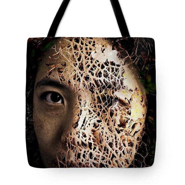 Knit Together Tote Bag by Christopher Gaston