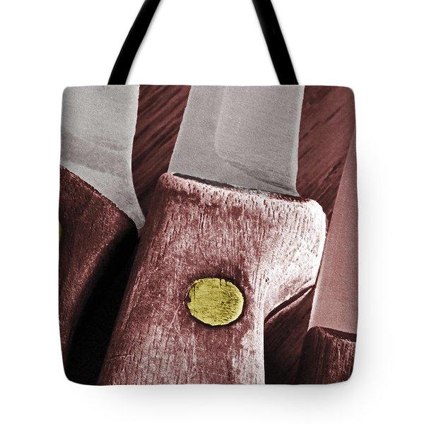 Knives II Tote Bag by Bill Owen