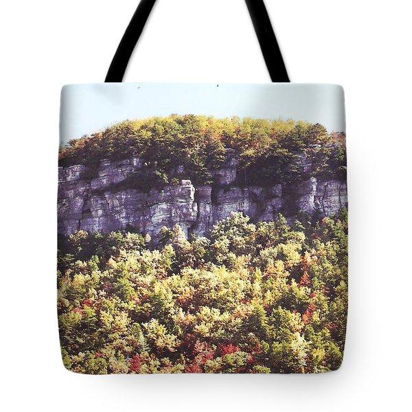 Knob Mountain Tote Bag