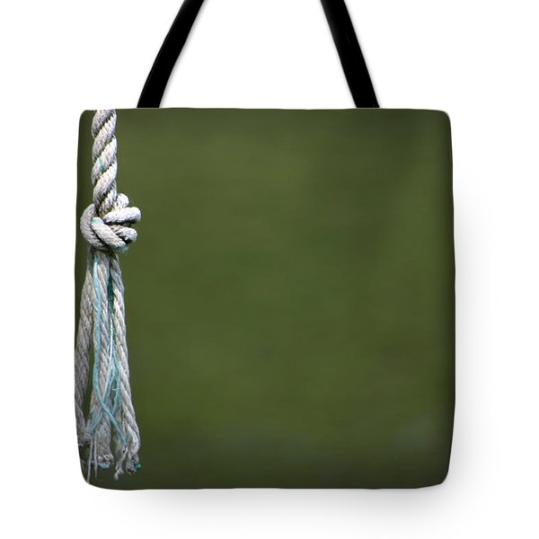 Tote Bag featuring the photograph Knot by Kelly Hazel