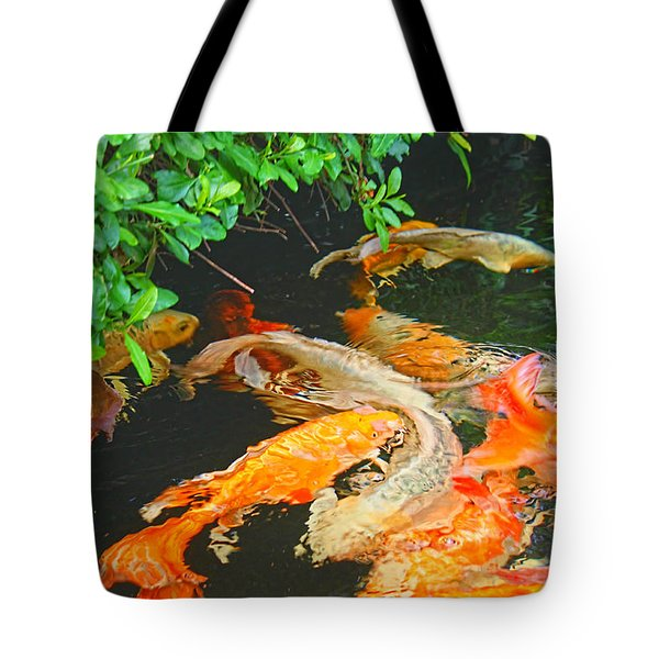 Koi Joy Tote Bag