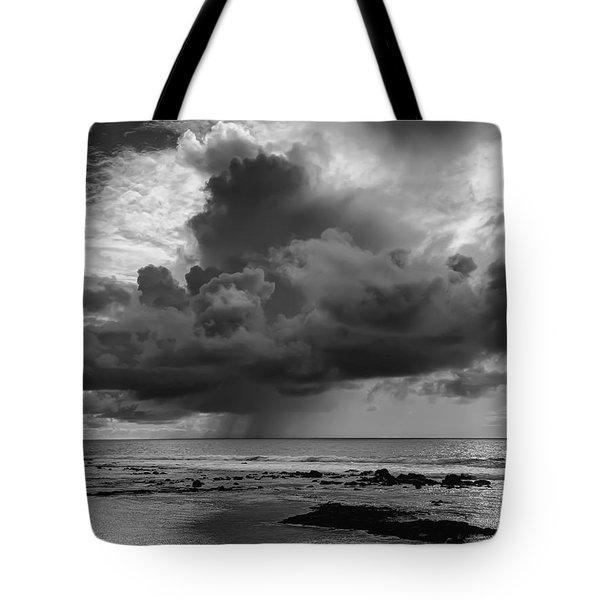 Kona Coast Squall - Big Island Hawaii Tote Bag by Daniel Hagerman