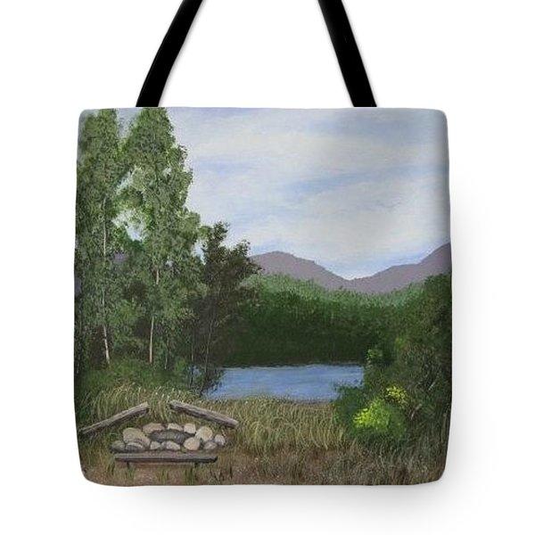 Kootenay Lake Bc Tote Bag