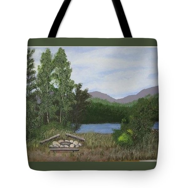 Kootenay Lake Bc Tote Bag