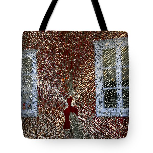 Tote Bag featuring the photograph Kosta Shattered by KG Thienemann