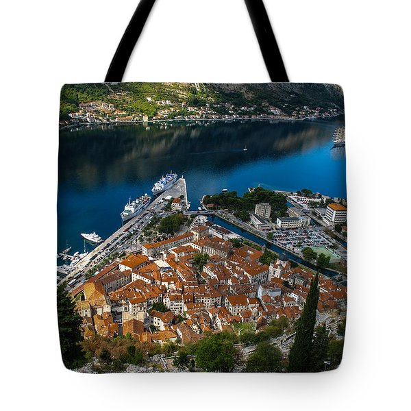 Tote Bag featuring the photograph Kotor Montenegro by David Gleeson