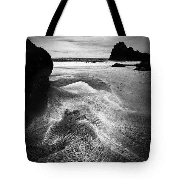 Kynance Cove Cornwall Tote Bag by Dorit Fuhg