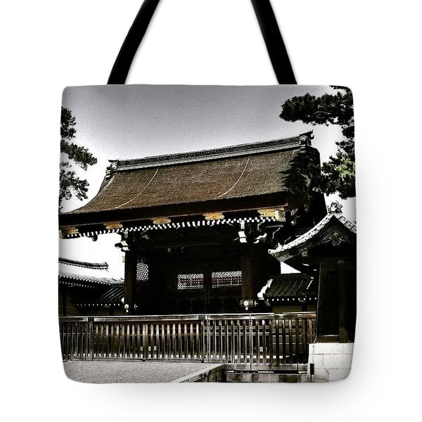 Kyoto Gosho Tote Bag by Juergen Weiss