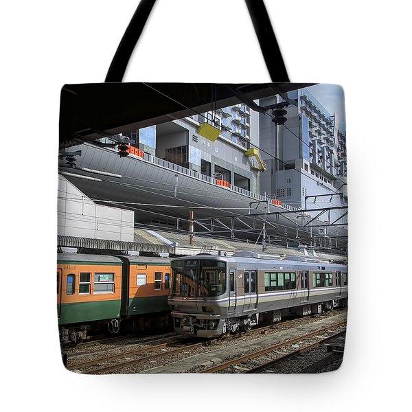 Kyoto Main Train Station - Japan Tote Bag