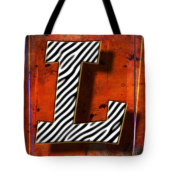 L Tote Bag by Mauro Celotti