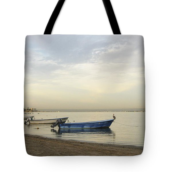 La Paz Waterfront Tote Bag by Anne Mott