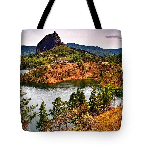 La Piedra Tote Bag by Skip Hunt
