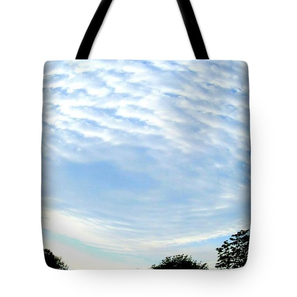 Tote Bag featuring the photograph La Terre Est Ronde by Danielle  Parent
