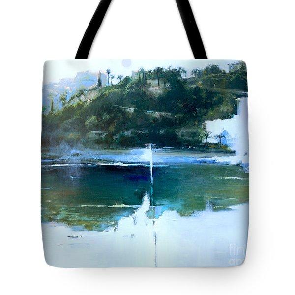 La Villefranche Franche Tote Bag by Lin Petershagen