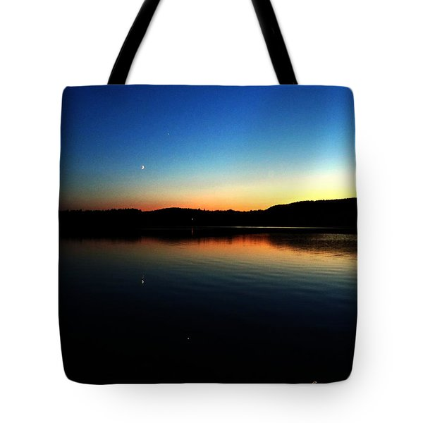 Lac Caribou Quebec Tote Bag