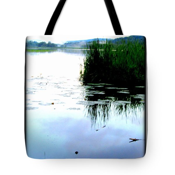 Tote Bag featuring the photograph Lac William Quebec by Danielle  Parent
