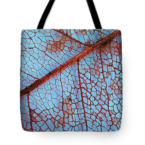 Lace Leaf 2 Tote Bag