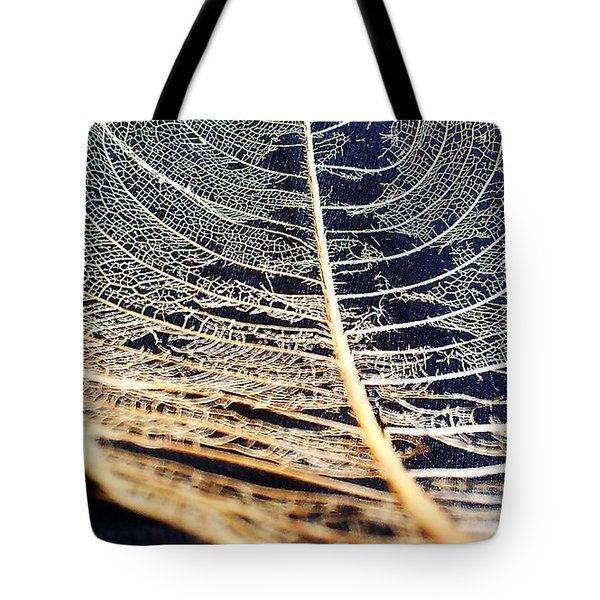 Lace Leaf 4 Tote Bag