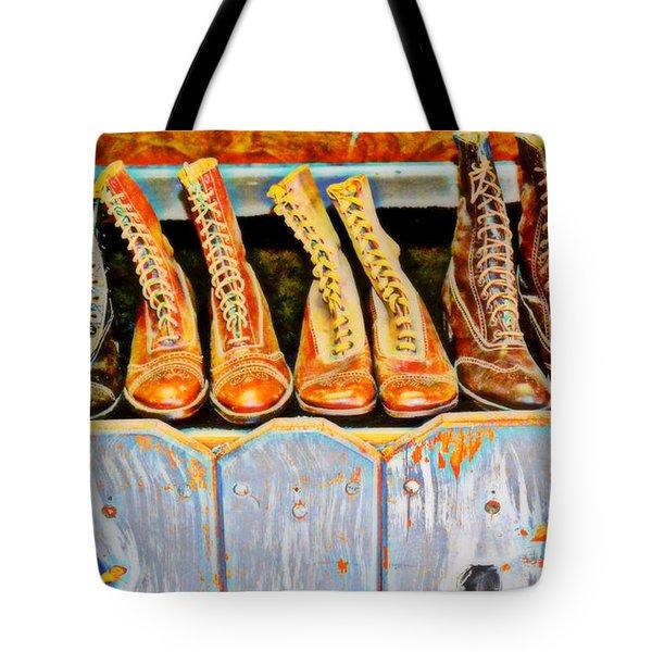 Laces Extraordinaire Tote Bag