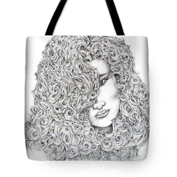 Curls Tote Bag