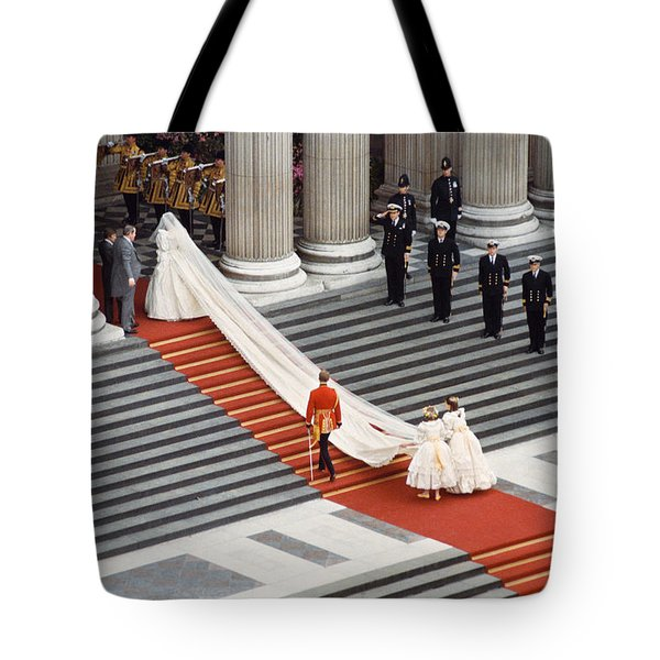 Lady Diana Spencer, 1981 Tote Bag by Granger