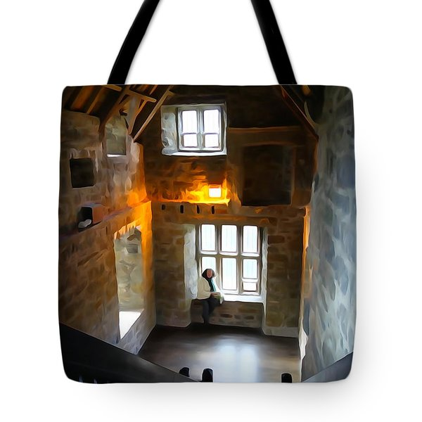 Tote Bag featuring the photograph Lady In Waiting  by Charlie and Norma Brock