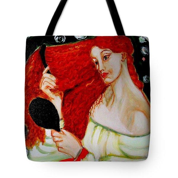 Lady Lilith Tote Bag by Rusty Woodward Gladdish