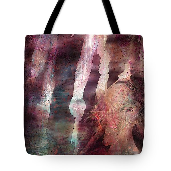 Lady Of The Mist Tote Bag