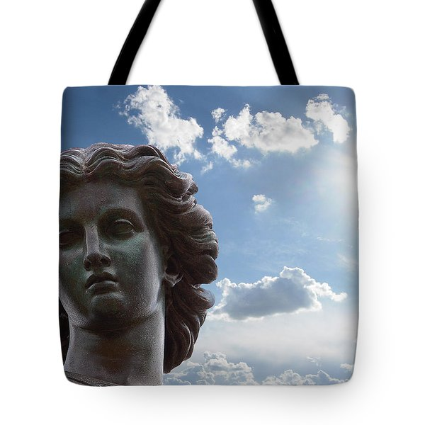 Lady Of The Waters Tote Bag
