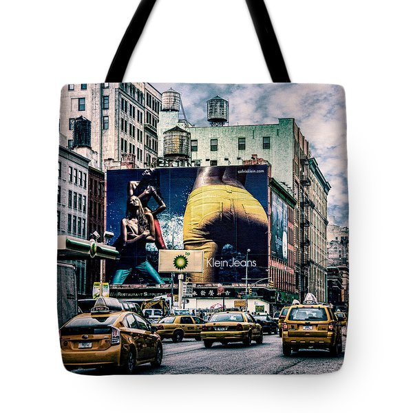 Lafayette And Houston Nyc Tote Bag by Chris Lord