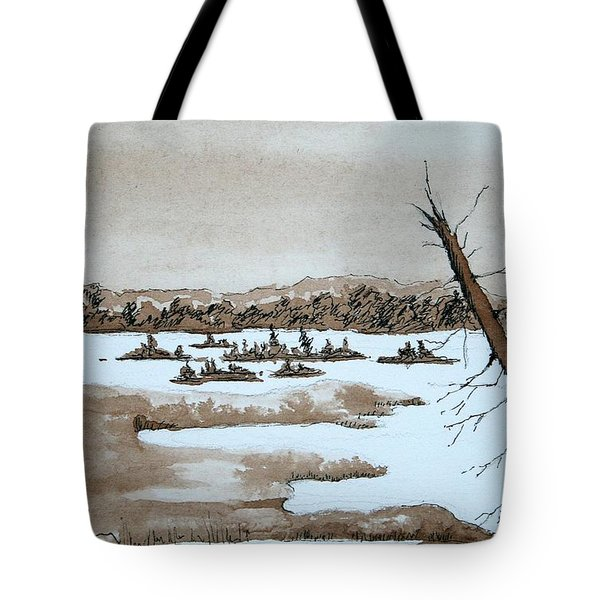 Lagoon On Madeline Island Tote Bag