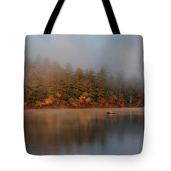 Lake Chocorua Sunrise Tote Bag