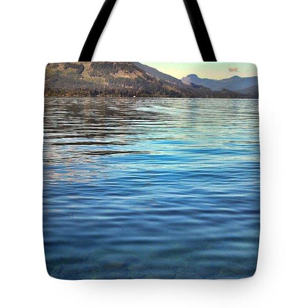 Lake Cowichan Bc Tote Bag