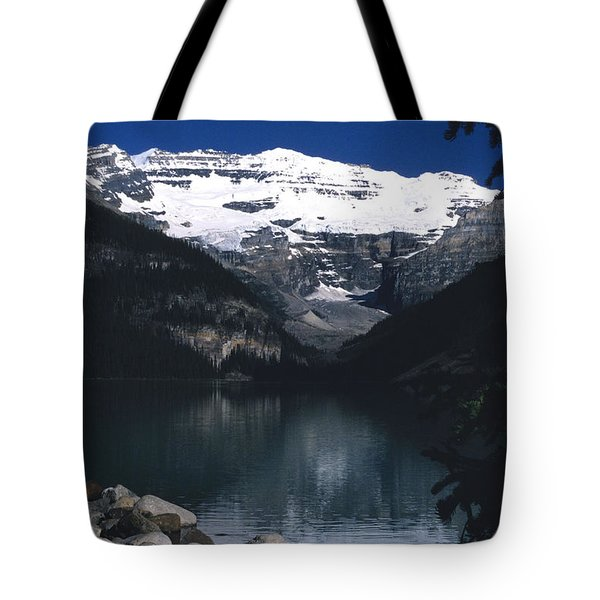 Tote Bag featuring the photograph Lake Louise II by Sharon Elliott