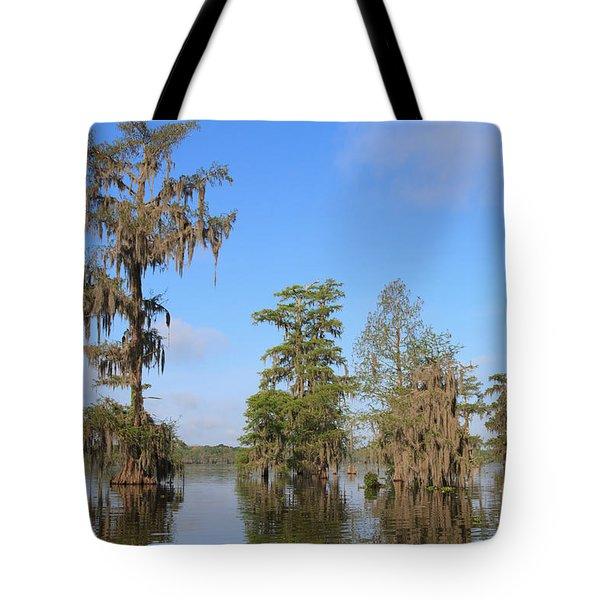 Lake Martin Tote Bag by Louise Heusinkveld