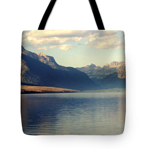 Lake Mcdonald At Sunset Tote Bag by Marty Koch