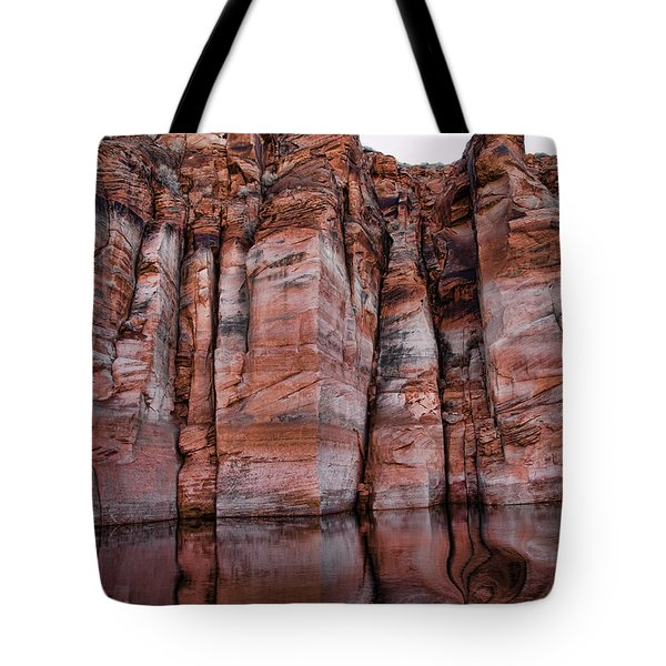 Lake Powell Water Canyon Tote Bag by Jon Berghoff