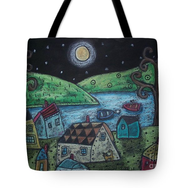 Lakeside Town Tote Bag by Karla Gerard