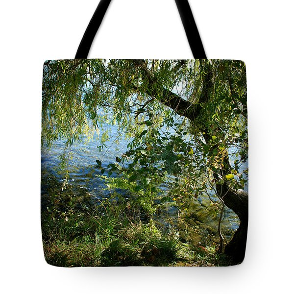 Lakeside Tree Tote Bag by Kathleen Grace
