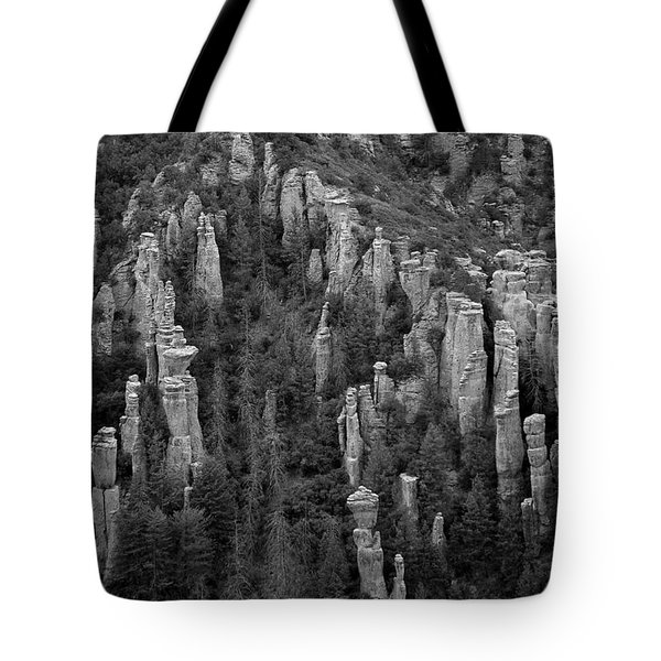 Tote Bag featuring the photograph Land Of Standing Up Rock  by Vicki Pelham