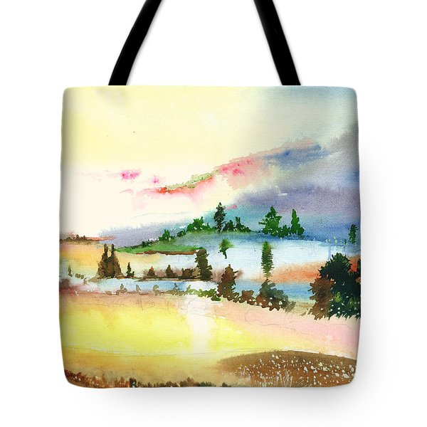 Landscape 1 Tote Bag by Anil Nene