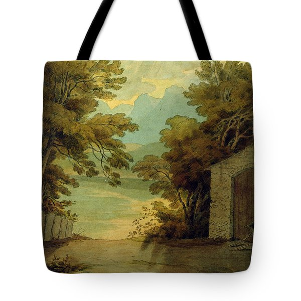 Langdale Pikes Tote Bag by John White Abbott