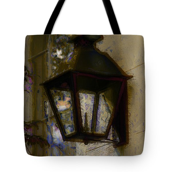 Tote Bag featuring the photograph Lantern 11 by Donna Bentley