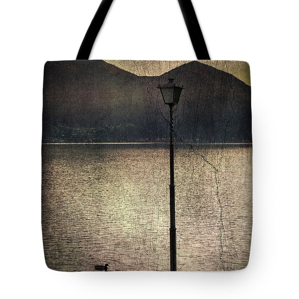 Lantern At The Lake Tote Bag by Joana Kruse