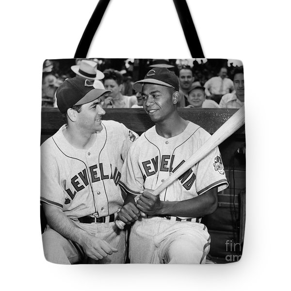 Larry Doby (1923-2003) Tote Bag by Granger