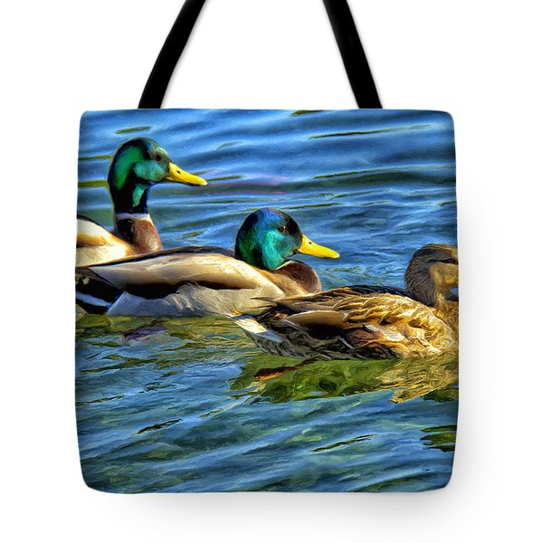 Larry Moe And Shirley Tote Bag by Dominic Piperata
