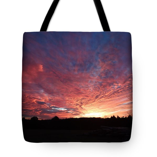 Lascassas Sunset Two Tote Bag