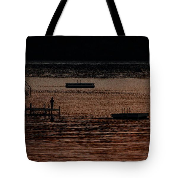 Last Cast Tote Bag