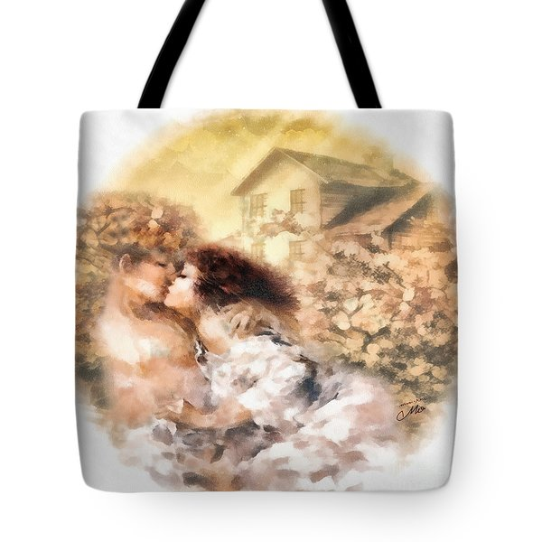 Last Day Of Summer Tote Bag by Mo T